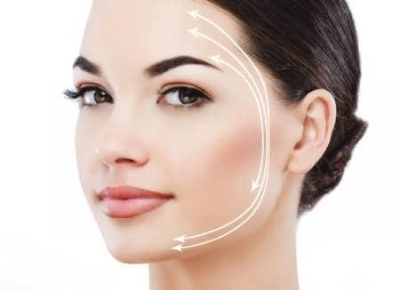 کشیدن پوست صورت با نخ