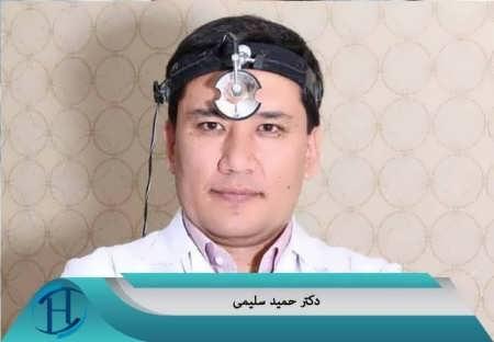 نمونه کار عمل زیبایی بینی دکتر سلیمی